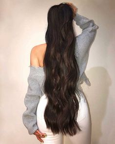 when I& about to heat my hair (which is extremely rare) & hellip . - when I& about to heat my hair (which is extremely rare) & hellip; Long Silky Hair, Long Dark Hair, Really Long Hair, Super Long Hair, Black Hair Hairstyles, Diy Hairstyles, Medium Hair Styles, Long Hair Styles, Rapunzel Hair