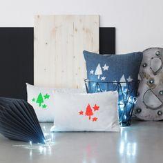 Siebdruck-Kissen-Stoff-Kinnertied-Farbe-Basteln-Diy-Neon-Geschenk