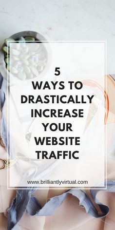 Looking for ways to increase your website traffic? Click to find out which 5 ways are the most effective.