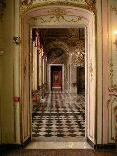 the long hall...