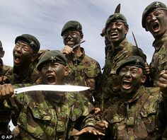 If I ever win a big lottery payout, I am going to hire Gurkhas as my private security.