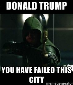 Donald Trump, you have FAILED this city!