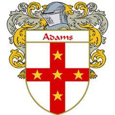 Adams family crest England