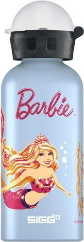 Sigg Barbie Water Bottle (Aqua Blue, 0.4-Litre) by Sigg. $16.54