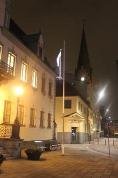 Saint Petri Church from the Major Square in Malmö