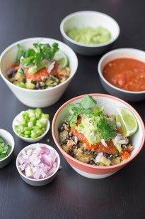 Mexican Quinoa Bowl - The Vegan Year