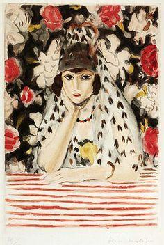 Henri Matisse (French artist, 1919-1942) The Spaniard 1928 ~Repinned via Antonie van Gelder http://bjws.blogspot.co.nz/2012_10_01_archive.html