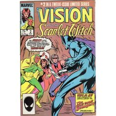 VISION AND THE SCARLET WITCH, THE #2 | Marvel Comics | November 1985 | The Recycled Find