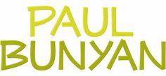 font PaulBunyan      1,2,3 UP # !?