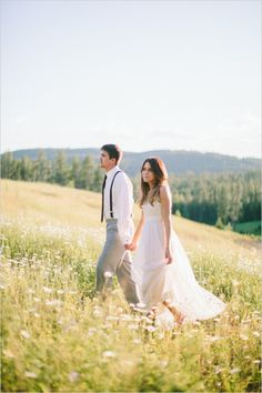 WeddingChicks | Cluney Photo | I'm in love with this National Park Wedding! Check it out for beautiful outdoor inspiration