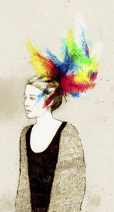 pajaros en la cabeza III by ...david...