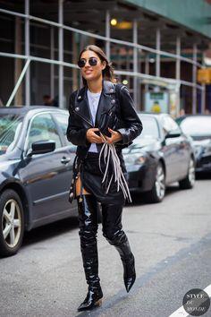 New York Fashion Week SS 2016 Street Style: Patricia Manfield