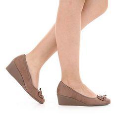 Sapato Anabela Azaleia 611/173 - Rato