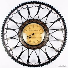 """Handcrafted Wrought-iron craft, by artists from Baster Region. An beauty with differnece, will match well with any kind of decor, Modern or contemprory or traditional decor...  Size : 16""""x 16""""x 2"""""""