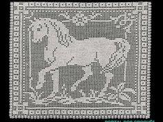 Discussion on LiveInternet - Russian Service Online Diaries Crochet Horse, Crochet Animals, Crochet Baby, Doily Patterns, Cross Stitch Patterns, Crochet Patterns, Filet Crochet Charts, Crochet Stitches, Freeform Crochet