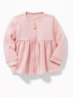 Old Navy Fleece Peplum-Hem Jacket for Baby Old Navy Fleece, Girl Outfits, Cute Outfits, Shop Old Navy, Maternity Wear, Kids Girls, Mantel, Ruffle Blouse, Peplum