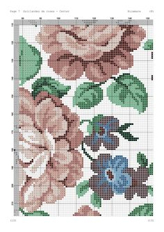 Cross Stitch, Bed, Table, Towel, Cross Stitch Embroidery, Craft, Embroidered Roses, Driveways, Table Toppers