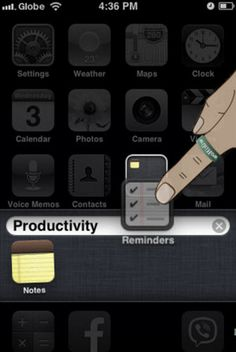 Как создать папку на айфоне