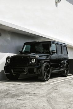 blacked Benz