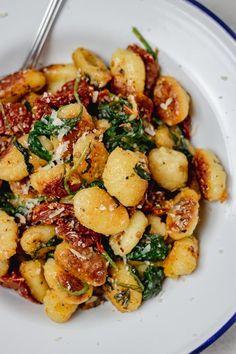 Veggie Recipes, Pasta Recipes, Vegetarian Recipes, Dinner Recipes, Cooking Recipes, Healthy Recipes, Meatless Dinner Ideas, Cooking Ideas, Le Diner