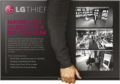"""LG - """"LG Thief (Board)"""" Cannes Lions International Festival of Creativity 2012"""