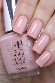 opi Half Past Nude is a lovely rosey-nude cream