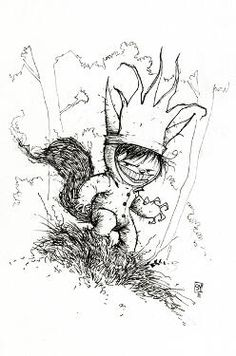 Max, Where the Wild Things Are by Skottie Young