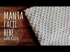 Baby Knitting Patterns Neutral Super Easy Baby Blanket Made With Pop Corn Stitches And Double Crochet [Video Tu… Crochet Baby Blanket Tutorial, Crochet Baby Blanket Beginner, Easy Baby Blanket, Tutorial Crochet, Crochet Tutorials, Free Crochet, Knit Crochet, Double Crochet, Crochet Stitches