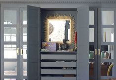 Image result for grey painted pax wardrobe