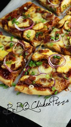 BBQ Chicken Pizza Recipe & Video - Asian at Home