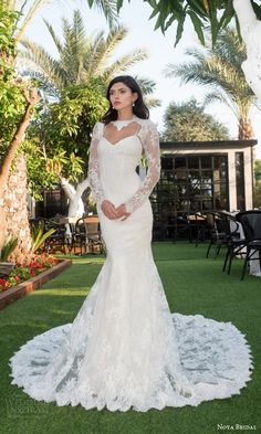 style 1108 sweetheart lace sheath wedding dress illusion long sleeve lace topper