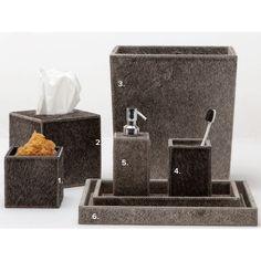 Umbra Gray Bath Accessories | Gracious Style