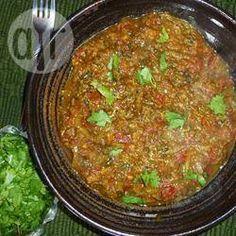 Indische Auberginen (Pandschabi Bhurtha) @ de.allrecipes.com