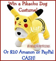 About ThePAWZ Road Pikachu Pet Halloween Costume: Dimensions: M Chest 17.3'' inch Body Length 11.8'' inch Color:Yellow. Soft comfortable & soft coral velvet material. Available in size XS-XL. Miss Molly Saysand I are excited for this new...