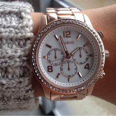I love to wear this watch, a gift I got from my boyfriend for my 20th birthday  #oozoo #watch