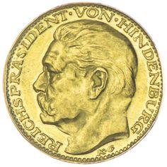 AV Medaille 1928 Med: Karl Goetz, auf den Generalfeldmarschall und Reichspräsidenten Paul von Hindenburg und Beneckendorff, *1847 Posen, †1934 Neudeck.Av: Kopfnach links, Rv: Vierfeldiges Familienwappen.
