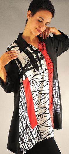 Arashi Shibori Pieced silk Orchid Blouse Shibori, Diy Fashion, Fashion Outfits, Silk Orchids, Silk Art, Textile Fabrics, Jacket Style, Wearable Art, Silk Clothing