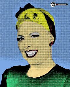 Miss Mandy Mae pop art