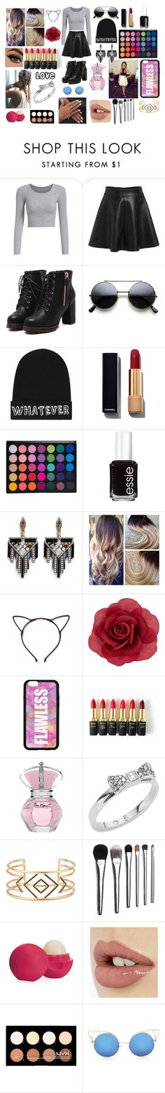 """#ThingsILove"" by sukh-deol ❤ liked on Polyvore featuring Local Heroes, Chanel, Essie, Lulu Frost, Accessorize, L'Oréal Paris, Kate Spade, Stella & Dot, Bobbi Brown Cosmetics and Eos"