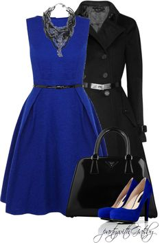 """""""Devil with a Blue Dress (I)"""" by partywithgatsby on Polyvore"""