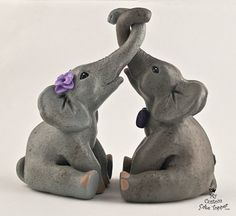 Hey, I found this really awesome Etsy listing at https://www.etsy.com/listing/175131776/elephants-wedding-cake-topper