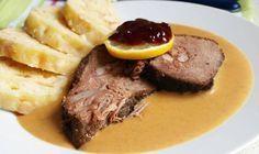 Steak, Food And Drink, Beef, Homemade, Cooking, Recipes, Czech Republic, German, Bohemian
