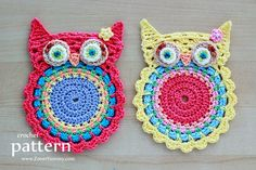Crochet Owl baby girl Bib-this could be a really cute purse, just make another blank for the back and adjust the ' strap'. Description from pinterest.com. I searched for this on bing.com/images