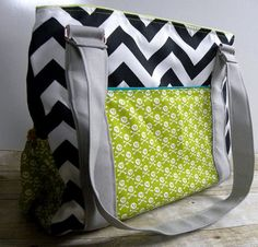 This one is on my wish list! Ready To Ship Lime Skulls and Chevron by BrookeVanGoryDesigns  #GiftsUnder100