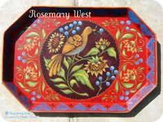 Rosemary West Decorative Painter | Rosemary West#Repin By:Pinterest++ for iPad#