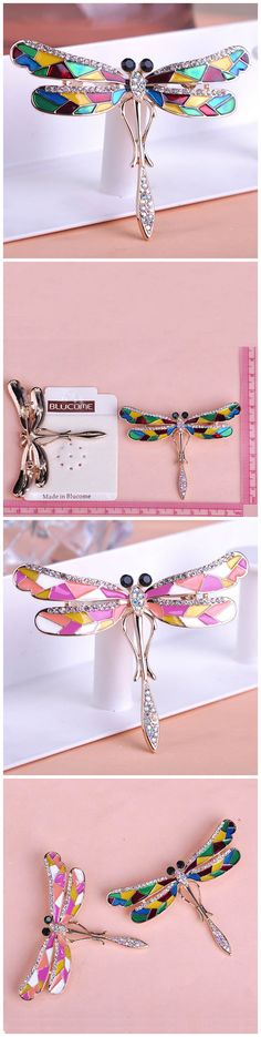 Colorful Esmalte dragonfly Broches Only $15.99  => Save up to 60% and Free Shipping => Order Now! #Ring #Jewelry #woman #fashion  http://www.fancyjewelries.net/product/colorful-esmalte-dragonfly-broches/