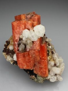 SERANDITE & ANALCIME, Canada. Analcime: Silicon Aluminum Sodium. Occurs frequently in basalts and other basic igneous rocks assoc. with other zeolites.