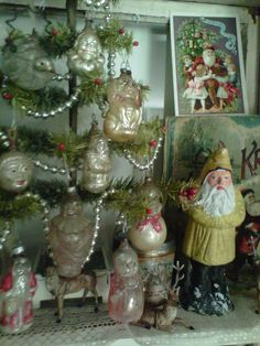 A country cottage Christmas | and also at ~ FRENCH COUNTRY COTTAGE ~ and also ~ SHOW AND TELL FRIDAY ...