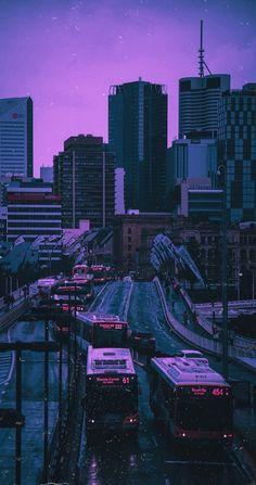 Whats Wallpaper, Purple Wallpaper Iphone, Neon Wallpaper, Scenery Wallpaper, Dark Purple Aesthetic, Neon Aesthetic, Night Aesthetic, Aesthetic Backgrounds, Aesthetic Iphone Wallpaper
