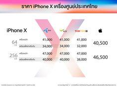 3 เครือข่ายยักษ์ใหญ่ในไทย เปิดพรีออเดอร์ iPhone X พร้อมโปรสุดคุ้ม ตั้งแต่ 17 พฤศจิกายนนี้ เป็นต้นไป - Siamphone.com